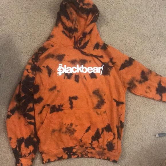 Blackbear official merch tie dye hoodie